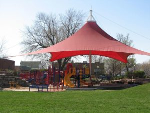 children's square playground